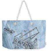 1836 Wood Molding Machine Weekender Tote Bag