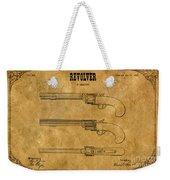 1837 Leavitt Revolver Patent Art 1 Weekender Tote Bag