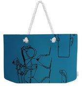 1837 Riding Saddle Patent Weekender Tote Bag