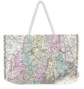1855 Colton Map Of Maine Weekender Tote Bag