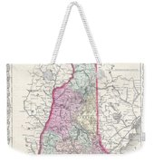 1855 Colton Map Of New Hampshire Weekender Tote Bag