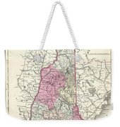 1857 Colton Map Of New Hampshire Weekender Tote Bag