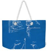 1881 Taylor Camera Obscura Patent Blueprint Weekender Tote Bag