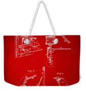 1881 Taylor Camera Obscura Patent Red Weekender Tote Bag