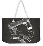 1890 Hammer Patent Artwork - Gray Weekender Tote Bag