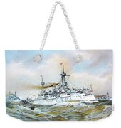 1895 - The Brandenburg Squadron At Sea - Color Weekender Tote Bag