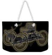 1896 Quadricycle Henry Fords First Car Weekender Tote Bag