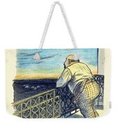 1897 - Le Rire Journal Humoristique Paraissant Le Samedi Magazine Cover - July 31 - Color Weekender Tote Bag
