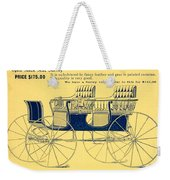 1898 - Hawley King And Company - Surrey Buggy Advertisement - Color Weekender Tote Bag