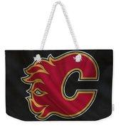 Calgary Flames Weekender Tote Bag