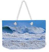 Hurricane Storm Waves Weekender Tote Bag