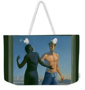 19. Jesus Appears To Mary / From The Passion Of Christ - A Gay Vision Weekender Tote Bag