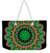 Kaleidoscope Stained Glass Window Series Weekender Tote Bag