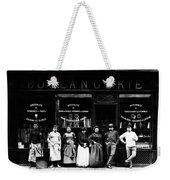 1900 Parisian Bakery Weekender Tote Bag
