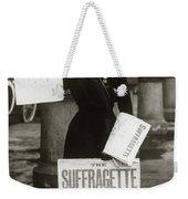 1900s British Suffragette Woman Weekender Tote Bag