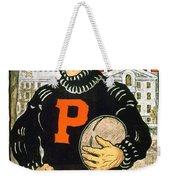 1901 - Princeton University Football Poster - Color Weekender Tote Bag