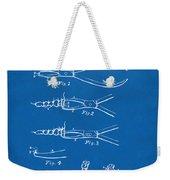 1903 Dental Pliers Patent Blueprint Weekender Tote Bag