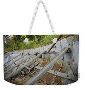 1906 Ship Wreck Sturgeon Point Lighthouse Weekender Tote Bag
