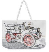1907 Cadillac Colored Pencil Weekender Tote Bag