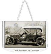 1907 Panhard Et Levassor Weekender Tote Bag by Jill Reger