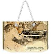 1909 - Oldsmobile Advertisement - Color Weekender Tote Bag