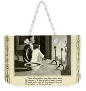 1910 - Ivory Soap Christmas Proctor And Gamble Advertisement  Weekender Tote Bag