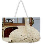 1910 Brooke Swan Car Weekender Tote Bag by Jill Reger