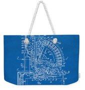 1910 Cash Register Patent Blueprint Weekender Tote Bag