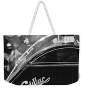 1911 Cadillac Roadster Grille And Hood Ornament Weekender Tote Bag by Jill Reger