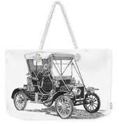 1911 Ford Model T Tin Lizzie Weekender Tote Bag by Jack Pumphrey