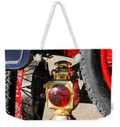 1911 Ford Model T Torpedo 4 Cylinder 25 Hp Taillight Weekender Tote Bag by Jill Reger