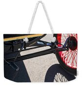 1911 Ford Model T Torpedo Grille Emblem Weekender Tote Bag by Jill Reger