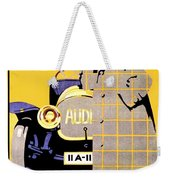 1912 - Audi Automobile Advertisement Poster - Ludwig Hohlwein - Color Weekender Tote Bag