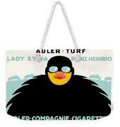1913 - Adler Cigarette German Advertisement Poster - Color Weekender Tote Bag