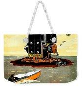 1913 - Fischer Magneto German Advertisement Poster - Color Weekender Tote Bag