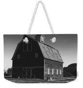 1913 Barn Black And White Weekender Tote Bag