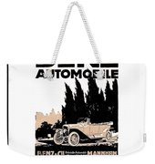 1914 - Benz Automobile Poster Advertisement - Color Weekender Tote Bag