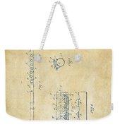1914 Flute Patent - Vintage Weekender Tote Bag