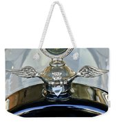 1915 Chevrolet Touring Hood Ornament Weekender Tote Bag