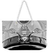 1915 Chevrolet Touring Hood Ornament - Moto Meter Weekender Tote Bag