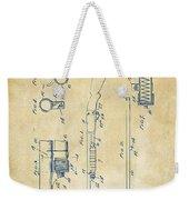 1915 Ithaca Shotgun Patent Vintage Weekender Tote Bag