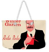 1918 - Wintergarten Poster - Roda Roda - Stephan Krotowski - Color Weekender Tote Bag