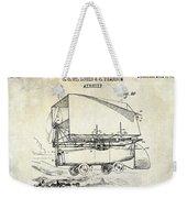 1919 Airship Patent Drawing Weekender Tote Bag