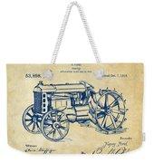 1919 Henry Ford Tractor Patent Vintage Weekender Tote Bag