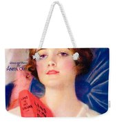 1919 - Land Of My Dreams By Anita Owen Sheet Music - Color Weekender Tote Bag