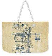 1920 Motion Picture Machine Patent Vintage Weekender Tote Bag