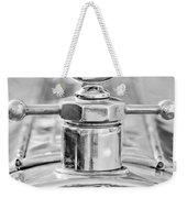 1920 Pierce-arrow Model 48 Coupe Hood Ornament - Motometer Weekender Tote Bag