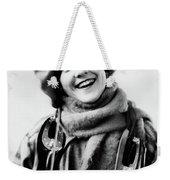 1920s 1930s Smiling Woman Dressed Weekender Tote Bag