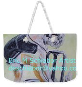 1920s Girl Weekender Tote Bag