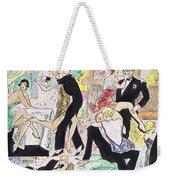 1920s Party 2 Weekender Tote Bag